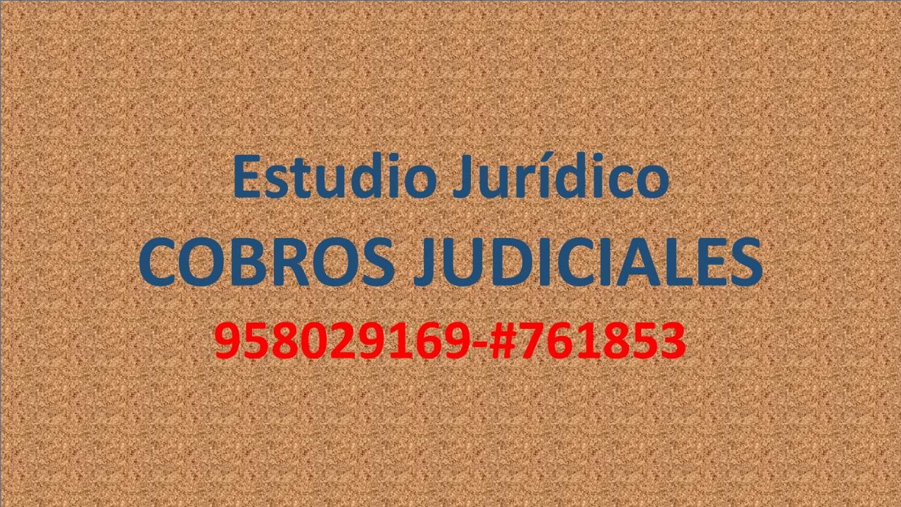 Foto de ABOGADO PARA COBROS JUDICIALES: Alimentos, laborales, alquileres, prestamos.