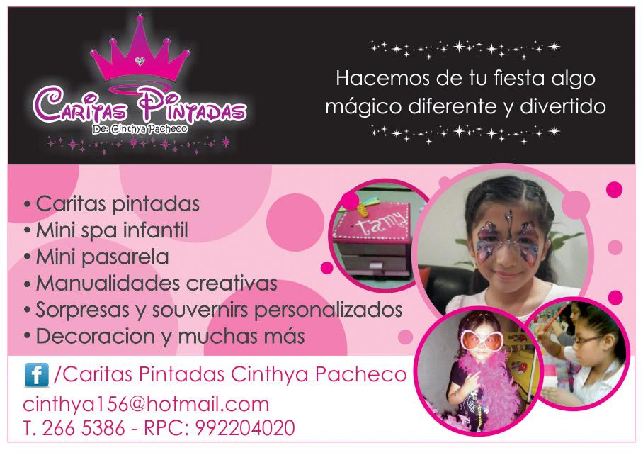 Caritas Pintadas de Cinthya Pacheco Lima