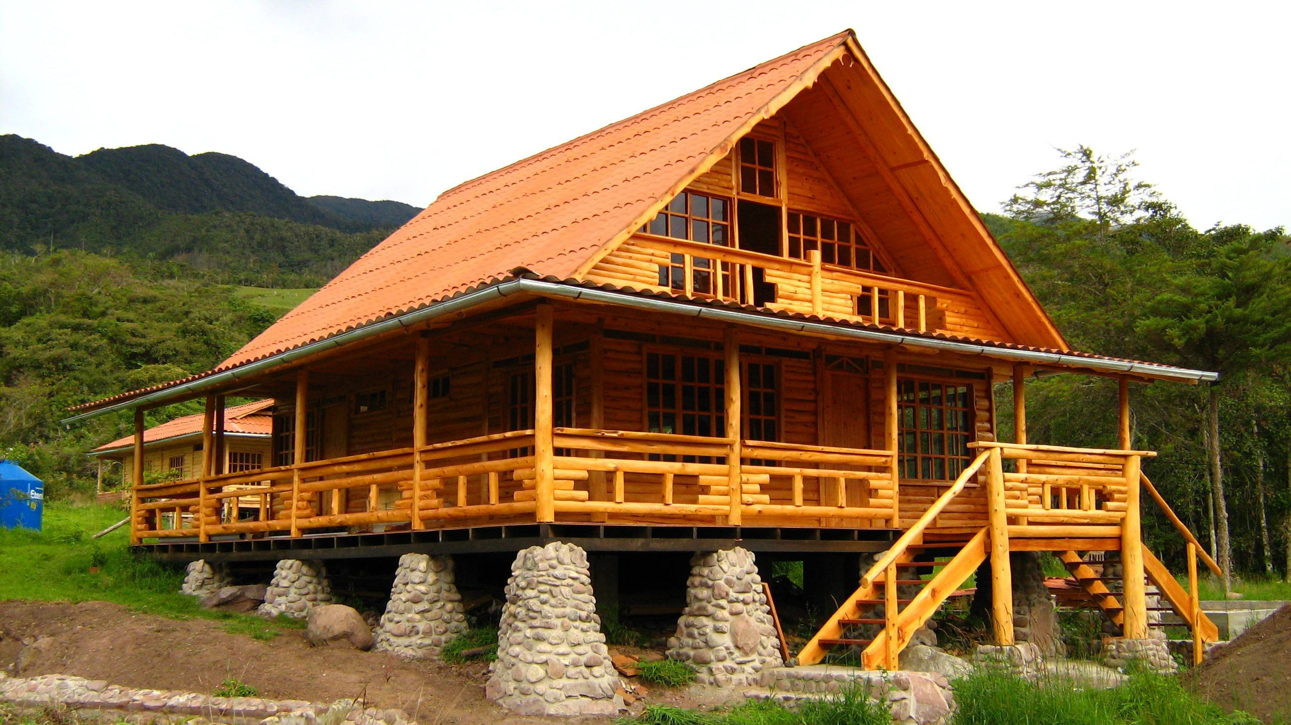 D tronco oxapampa - Fotos de bungalows de madera ...