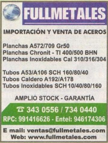Full Metales SAC Lima