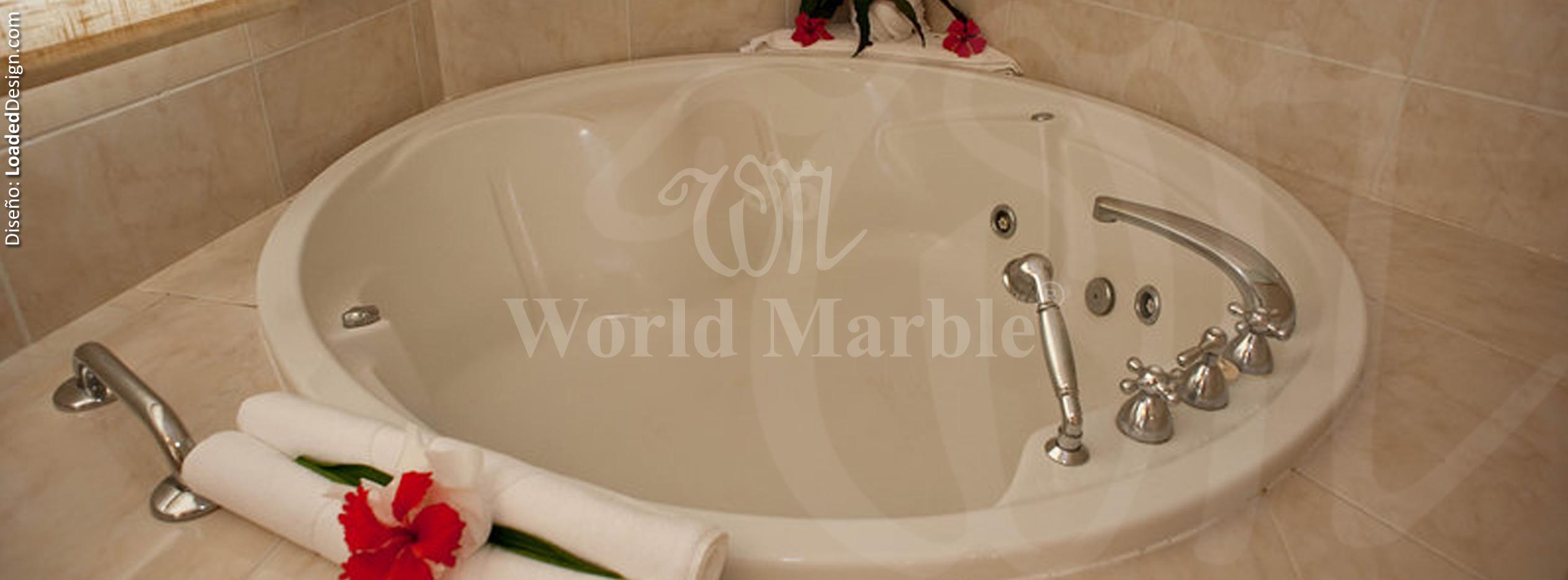 Tinas De Baño Redondas:Foto de Industrias World Marble Sac