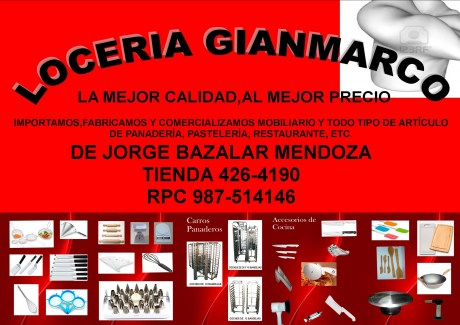 LOCERIA GIANMARCO Lima