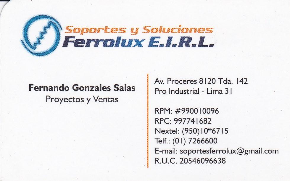 Foto de Soportes y Soluciones Ferrolux E.I.R.L
