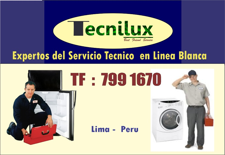 Fotos de TECNILUX TF 799 1670 SERVICIO TECNICO LAVADORAS REFRIGERADORAS